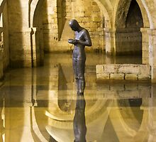 The Crypt Winchester Cathedral by Chester Tugwell