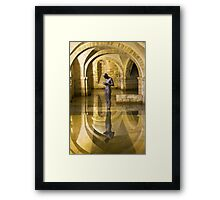 The Crypt Winchester Cathedral Framed Print