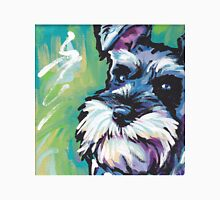 Schnauzer Bright colorful pop dog art T-Shirt