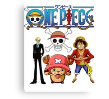 one piece 1 Canvas Print