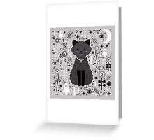 Kitten Fang Greeting Card