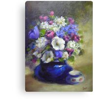A Bunch of Flowers Canvas Print