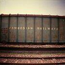 cambodian railways, phnom penh, cambodia by tiro