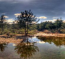 Turon Reflections - Hill End, NSW Australia (25 Exposure HDR Panorama )- The HDR Experience by Philip Johnson