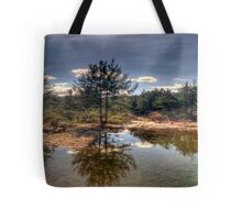 Turon Reflections - Hill End, NSW Australia (25 Exposure HDR Panorama )- The HDR Experience Tote Bag