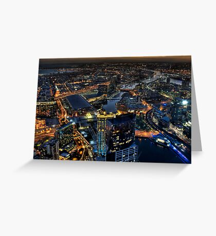 Magnificent Melbourne Greeting Card