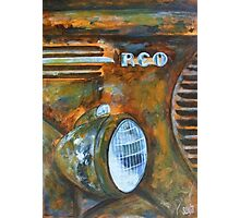 Old Rusted Car IV Photographic Print
