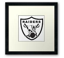 Oakland Raiders Framed Print