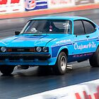 Ford Capri drag racer by Martyn Franklin