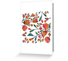 Buds and Flowers Greeting Card