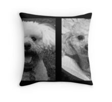 House Guests Throw Pillow