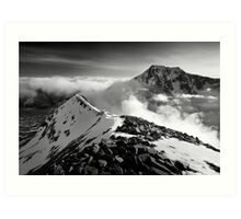 Ben Nevis and the Carn Mor Dearg arête, Scotland. Art Print