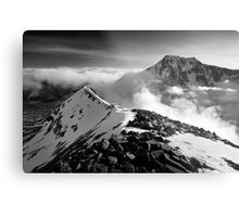 Ben Nevis and the Carn Mor Dearg arête, Scotland. Metal Print