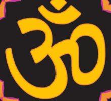 Aum Retro Love Sticker