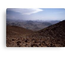 Mountain tan Canvas Print