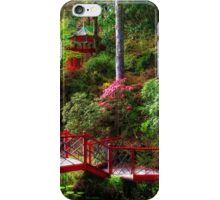 Portmeirion - Japanese garden, Wales iPhone Case/Skin