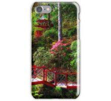 Portmeirion - Japanese garden, Wales iPhone Case/Skin