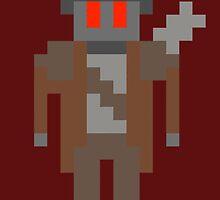 8-Bit NCR Ranger by JHawkmoon