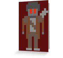 8-Bit NCR Ranger Greeting Card