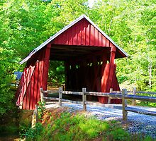 Campbell's Covered Bridge  by Lisa Taylor
