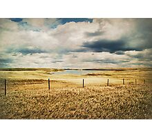 Counting Fenceposts and Moments Photographic Print