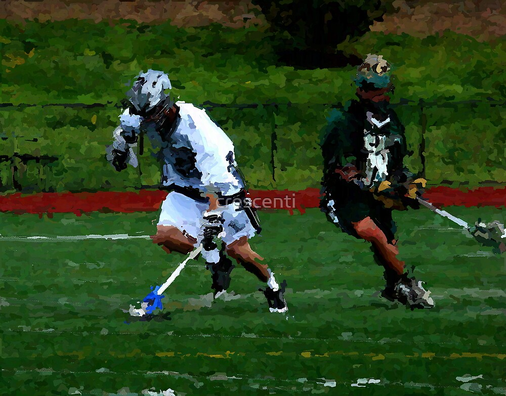 bishop eustace 192 0 paint & ink lacrosse by crescenti