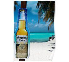 mexico beach Poster