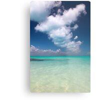 caribbean sea and sky Metal Print