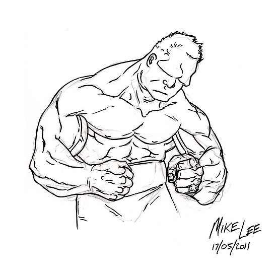 Boxing Oaf by Michael Lee