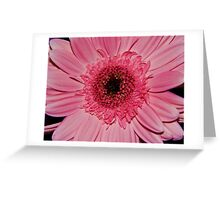 Neon Pink Greeting Card