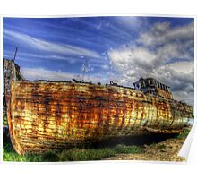 The Good Hope Derelict - Skippool Creek, Blackpool Poster
