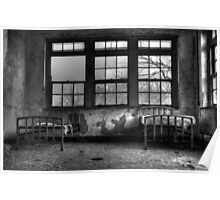 Roommates, Abandoned Hospital New England Poster