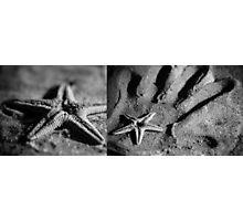 Starfish in my Hand Photographic Print