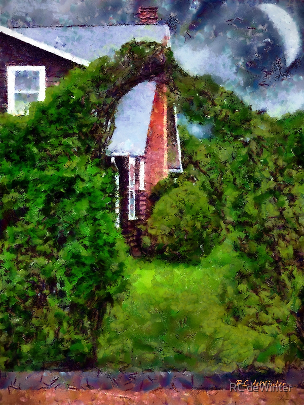 Magickal Night at Confetti Cottage by RC deWinter