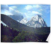 View from Garmisch-Partenkirchen Poster