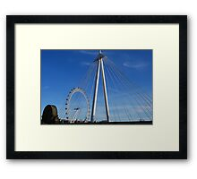 Geometric Shapes in our Urban Landscape Framed Print