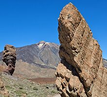 Roques de García and Mount Teide by Yair Karelic