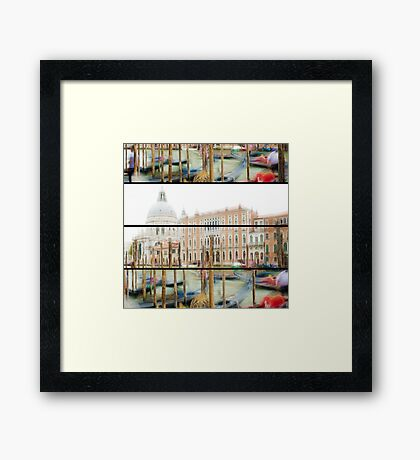 Expedition In Venezia IV Framed Print