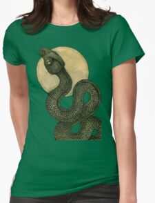 Snake Dance Womens Fitted T-Shirt