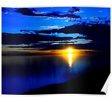 Sunset - The Great Salt Lake Poster