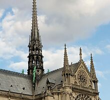 Notre Dame de Paris - 3 - A Side View ©  by © Hany G. Jadaa © Prince John Photography