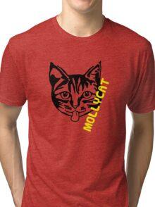 Mollycat - logo Tri-blend T-Shirt