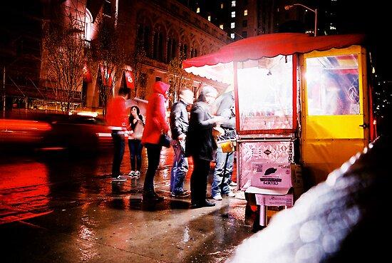 Hot Dog Stand by cforsythe