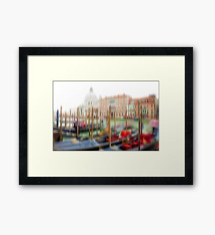 Expedition In Venezia IX Framed Print