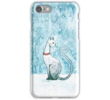 The Winter Cat iPhone Case/Skin