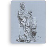 Woman Reading Canvas Print