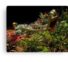 In The Garden ~ Part Three Canvas Print