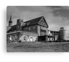 Patient Drop Off, Abandoned Seaside Sanatorium Connecticut, Long Island Sound Canvas Print