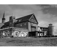 Patient Drop Off, Abandoned Seaside Sanatorium Connecticut, Long Island Sound Photographic Print