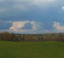 Farmers Rain by linmarie
